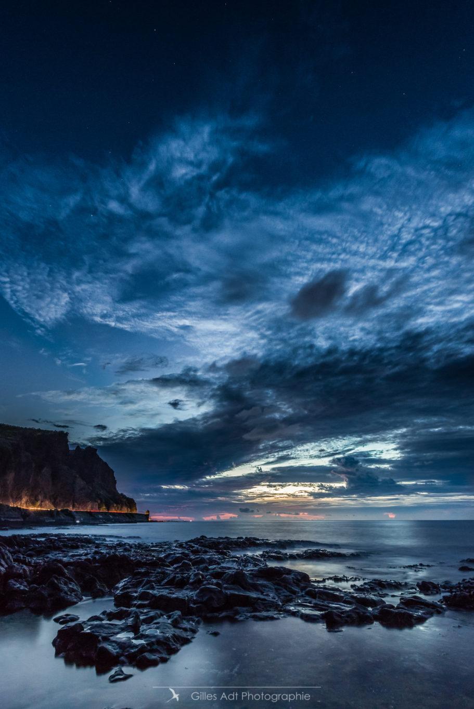 Coucher de soleil au Cap La Houssaye