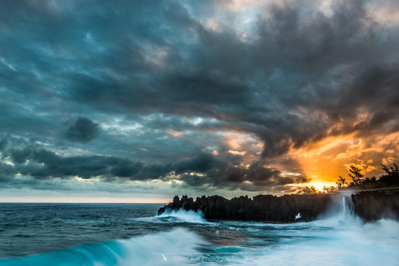 Sunset au Cap Méchant