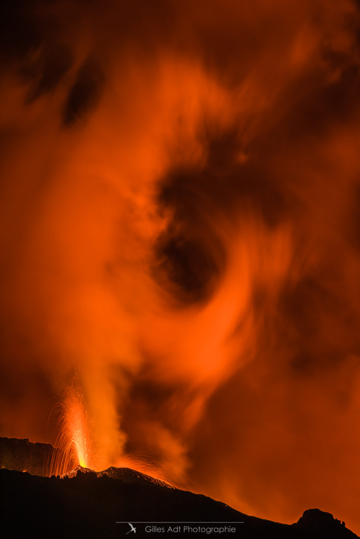 Éruption sauvage