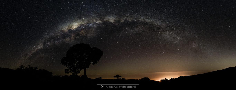 Le Maido sous la Voie Lactée
