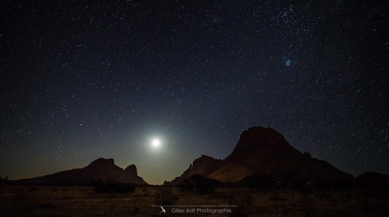 Nuit au Spitzkoppe