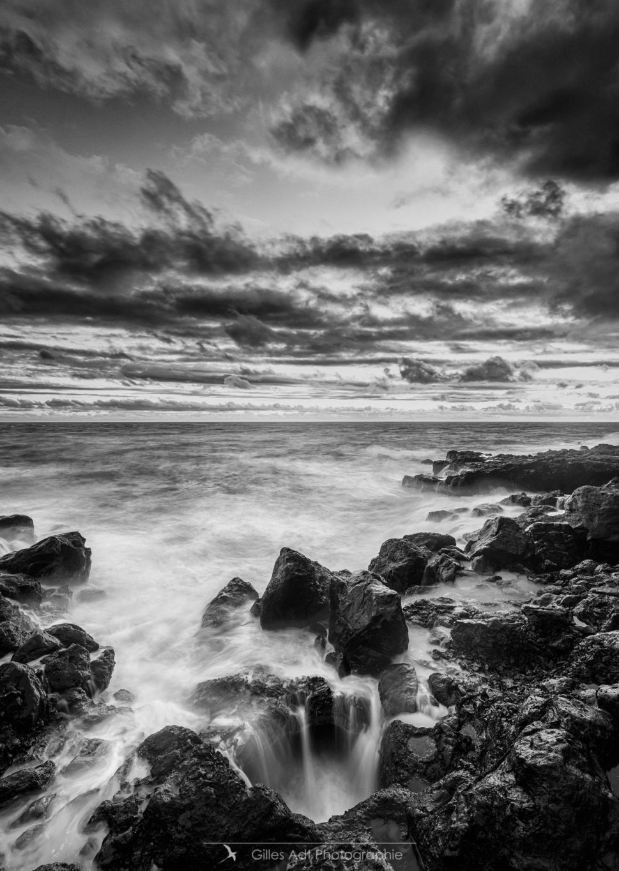 rivage de la Réunion