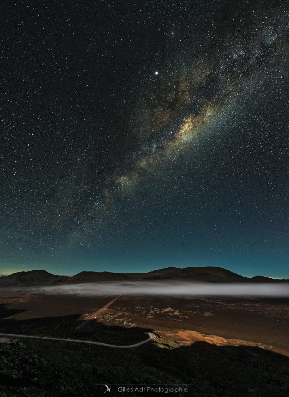 la Plaine des Sables sous la Voie Lactée