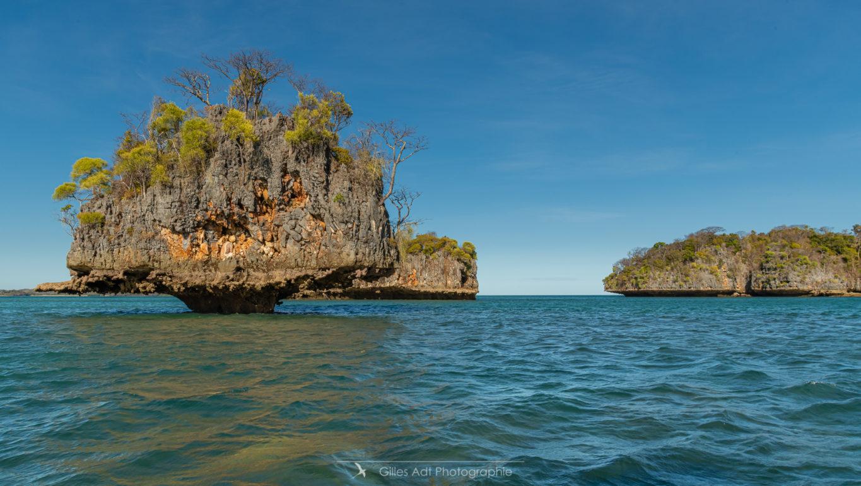 Les îlots calcaires de Moramba