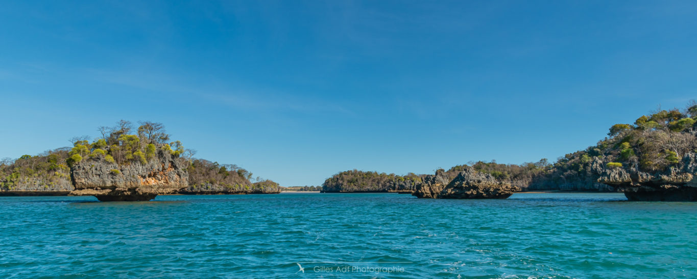 Panorama de la baie de Moramba