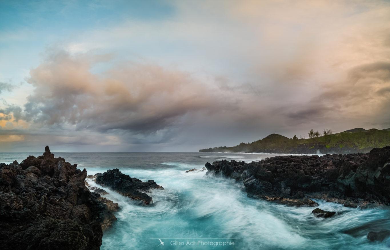 Lorsque le basalte rencontre l'océan