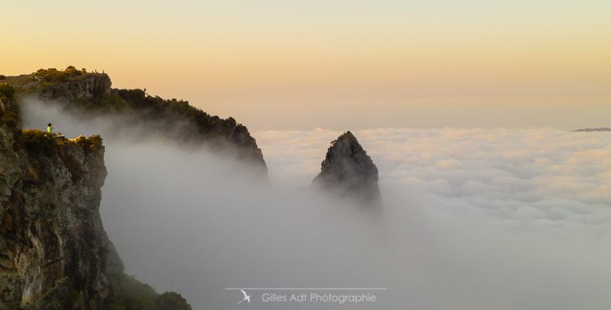 le Maido et les nuages