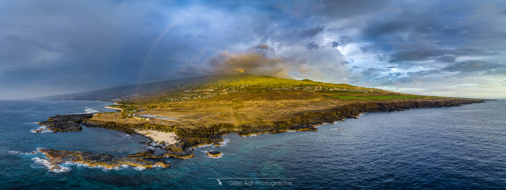 Panorama au drone - la Pointe au sel
